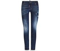 Medium Waist Skinny Jeans | Damen