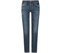 Liya Jeans High Rise Classic Fit Crop | Damen