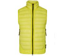 Garment Dyed Micro Yarn Daunenweste | Herren (L;XL;XXL)