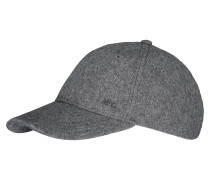 Cap Basic Wool Nacht grau