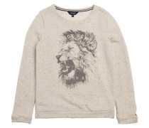 Sweatshirt Ruby Lion Beige