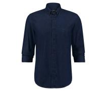 Hemd Richard Davis Custom Fit Yale Blau
