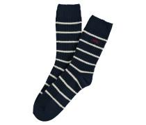 Socken Govan Yale Blau