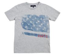T-shirt Cody Photoprint Athlete Grau