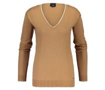 Pullover Amelie V-neck Camel
