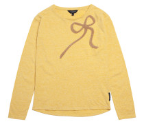 T-shirt Carmel Bow Gold Yellow
