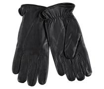 Lederhandschuhe Basic Schwarz