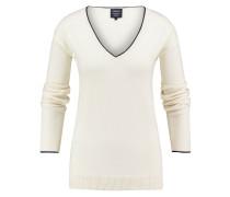 Pullover Amelie V-neck Grauweiß