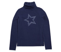 T-shirt Joco Col Yale Blau