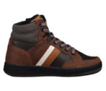 Sneakers Clyde Mid Dunkelbraun