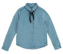 Bluse Tyler Mid Blau Indigo