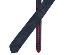 Krawatte Denim Yale Blau