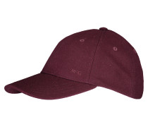 Cap Basic Wool Dark Red