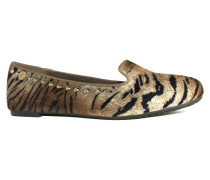 Ballerinas 27267 - SLIPPERS PRINT TAUPE