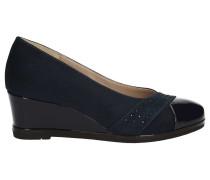 Sandalen 45521 Wedge sandals Frauen Blue