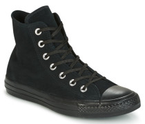 Sneaker CHUCK TAYLOR ALL STAR MONO PLUSH SUEDE HI BLACK/BLACK/BLACK