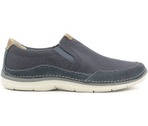 Schuhe 114176 Slip-on Man Blue