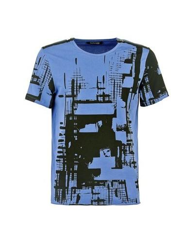 guess herren guess t shirt t shirt marciano murales print. Black Bedroom Furniture Sets. Home Design Ideas