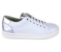 Halbschuhe NAPA BLANCO Leder Sneaker Metallictrend