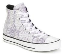 Sneaker CHUCK TAYLOR ALL STAR LUREX SNAKE HI WHITE/COOL GREY/BLACK
