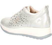 Sneaker UB23045A Sneakers Frau Silber