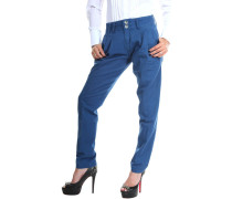 Mazine  Chinohosen Damen Chino Hose Soft Blue Polina 11134666-7505