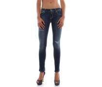 Slim Fit Jeans LAMBDA P622 DS112D M46 DENIM SCURO JEANS Damen