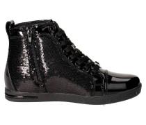 Laura Biagiotti  Sneaker 1562 Sneakers Damen Lackleder  Schwarz