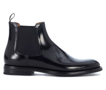 Boots Chelsea Boots Monmouth in Leder Schwarz