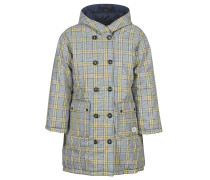 Daunenjacke REVERSIBLE DOUBLE BREASTED JACKET IN CHECK AND SOLID