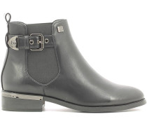 Stiefelletten 1604 Ankle boots Frauen Black
