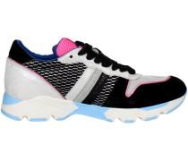 Sneaker PE16SAN15 Niedrige Sneakers Damen Grau/Schwarz