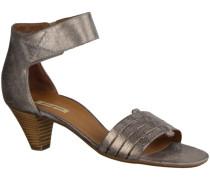 Sandalen 6386-035- Damenschuhe Sandalette / Sling, Mehrfarbig, brush met