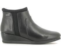 Stiefelletten 107041 Ankle boots Frauen Black