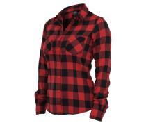 Hemdblusen Ladies Checked Flanell Shirt