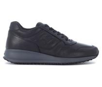 Sneaker Sneakers Interactive N20 in Leder Schwarz