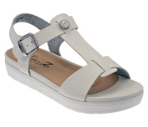 Sandalen Lizzi Bianco Zeppa sandale