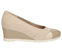Sandalen 45521 Wedge sandals Frauen Beige