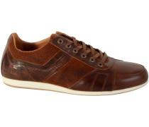 Sneaker Turnschuhe Wallera UP33147 Cognac