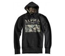 Alpha Industries  Pullover Hoody Camouflage Print