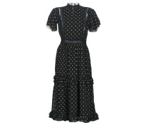 Maxikleider PARTY DRESS WITH RUFFLES AND LACE PANELS