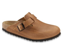 Clogs Boston Naturleder Antik