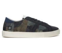 Sneaker Sneaker D.A.T.E. Newman Camo Army aus Leder verkleidet aus Gummi