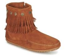 Stiefel DOUBLE FRINGE SIDE ZIP BOOT