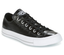 Sneaker CHUCK TAYLOR ALL STAR CRINKLED PATENT LEATHER OX BLACK/BLACK/WHI