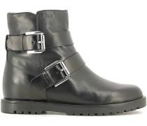 Stiefel 107240 Ankle boots Frauen Black