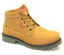 Stiefel 222711 - Stiefel Schnürsenkel WATSON Senf