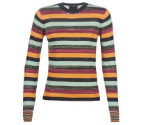 Pullover FITTED PULLOVER IN MULTICOLOUR LUREX STRIPE
