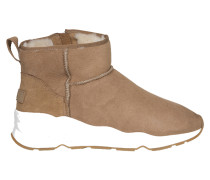 High-Top Sneaker Miko in Beige-Braun