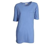 Shirt aus Baumwolle in Blau